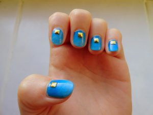6 ways to pimp your nails in less than 10 minutes with gradient nails