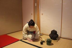 Japanese tea ceremony Caellia Kyoto
