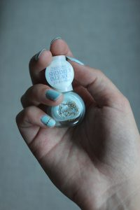 Blue Hello Kitty nail polish sanrio - nail jewelry seal