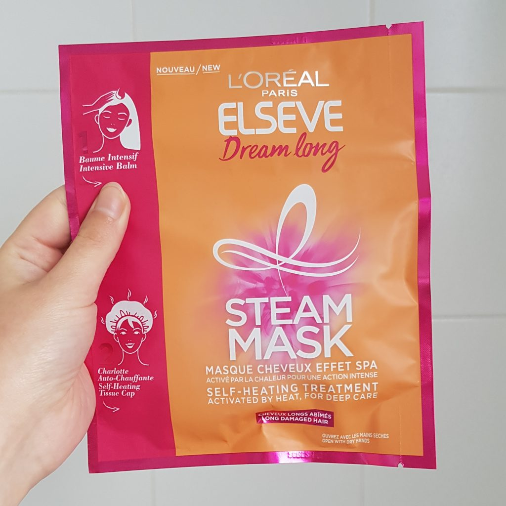 Non-stop Noor: My month in pictures - April & May: L'Oreal Paris Elseve Dream Long Steam Mask