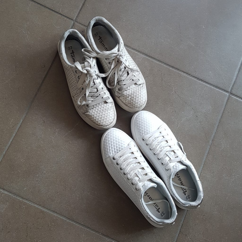 Non-stop Noor: My month in pictures - April & May: Tamaris sneakers