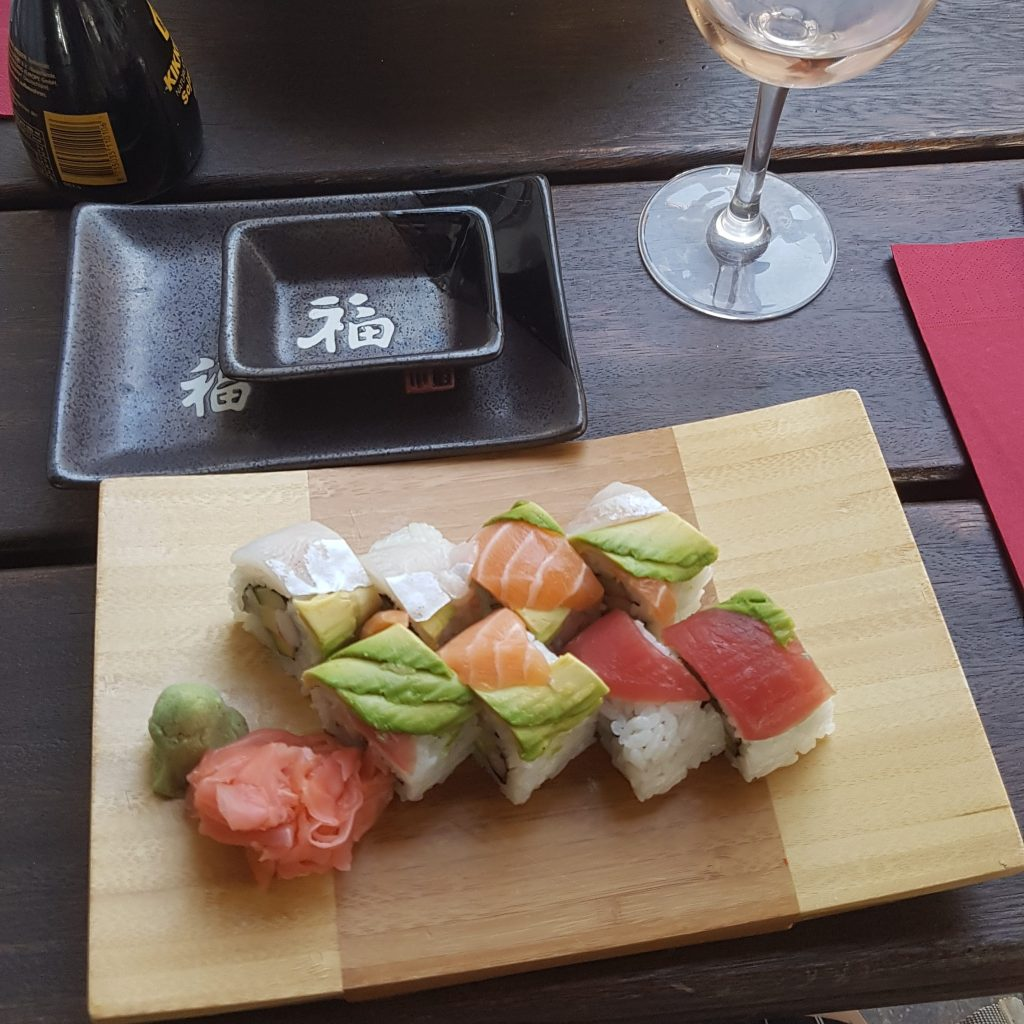 Non-stop Noor: My Months in Pictures - June & July: sushi