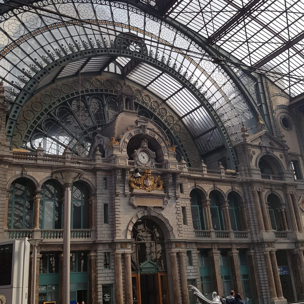 Non-stop Noor: My Months in Pictures - June & July: Antwerp station