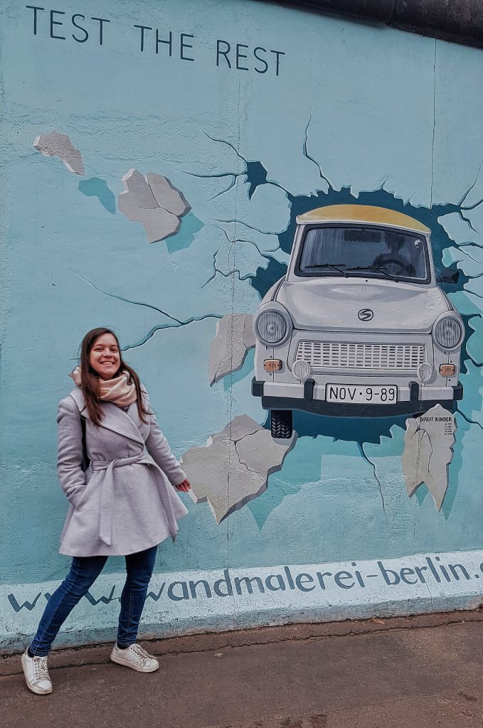 Travel diary: Berlin East Side Gallery trabant